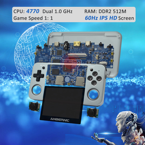 Image 4 - HDMI ANBERNIC Retro game RG350 Video games Upgrade game console ps1 game 64bit opendingux 3.5 inch 2500+ games RG350m Child gift