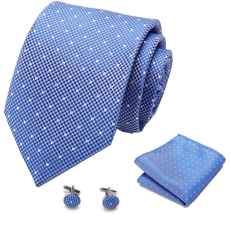 New  Men Ties Set Extra Long Size 145cm*7.5cm Necktie Navy Blue Paisley Silk Jacquard Woven Neck Tie Suit Wedding Party