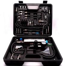 범용 자동 엔진 관리 유지 보수 가솔린 자동차 용 Gasonline 인젝터 클리너 도구 용 비 해체 연료 시스템 청소
