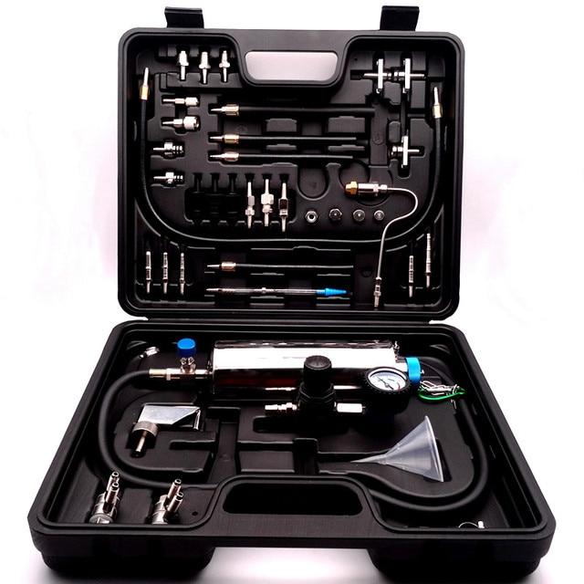 Mantenimiento Universal para el cuidado del motor, sistema de limpieza de combustible sin desmontaje para herramientas de limpiador para inyectores Gasonline para coches de gasolina