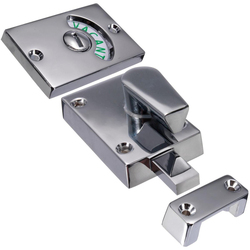 Wc toaleta zajmuje się prywatności wskaźnik Bolt zamek wolne zatrzask łazienka w Zamki do drzwi od Majsterkowanie na