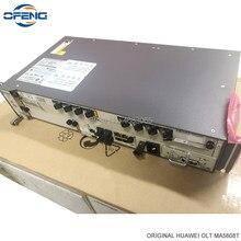 Huawei OLT MA5608T 2 * płytka kontrolna MCUD 1G + 1 * płytka zasilająca MPWD + 1*2 * GPBD B + C + C + + Terminal serwisowy linii optycznej