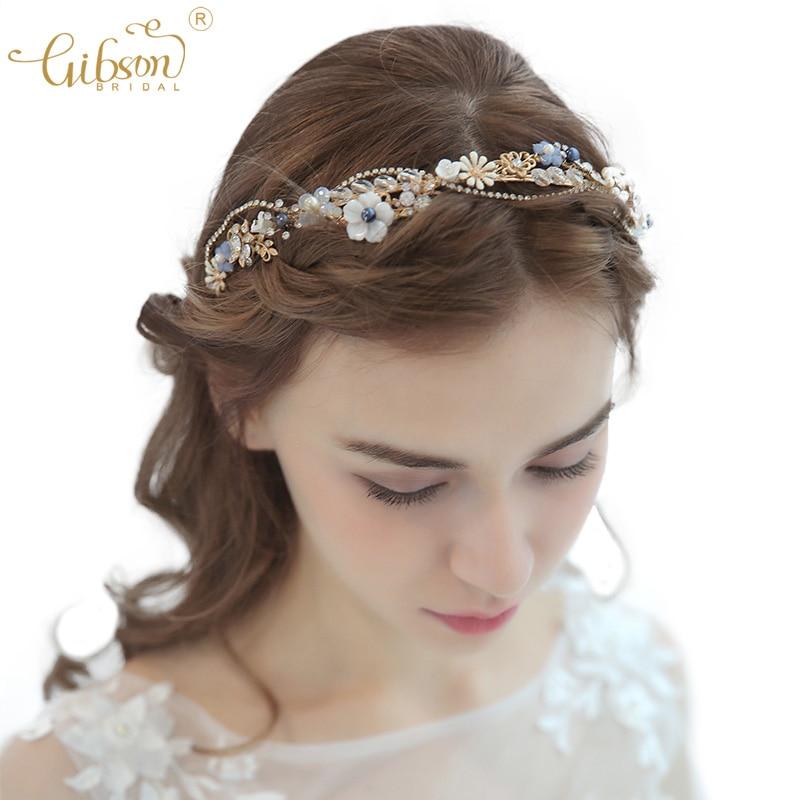 Wedding Tiaras Rhinestone Chain Crystal Bridal Hair Crown Dress Hair Accessories Dancing Stunning Headpiece Tiaras