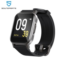 SoundPEATS Watch 1 Touch Screen Smart Watch Fitness Tracker with 12 Sports Modes Weather Reminder Sleeping Record
