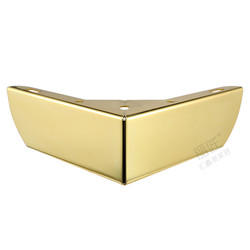 4 قطعة أثاث معدني الذهب الساقين مع قواعد مطاطية وسادة خزانة أرجل طاولة الأجهزة أريكة الأثاث مستوى القدم