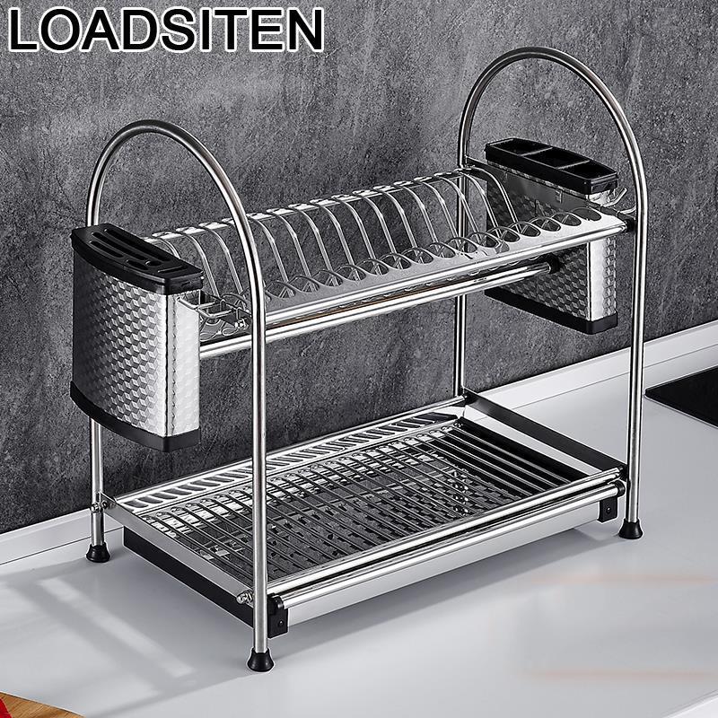 Supplies Accessories Organisateur Escurridor De Platos Sink Stainless Steel Cozinha Cocina Organizador Cuisine Kitchen Organizer