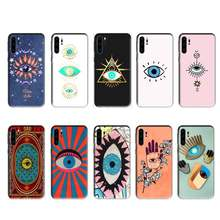 BaweiTE Evil Eye case for huawei p20 p30 p40 pro mate 10 20 30 pro lite p smart y7 2019 plus nova 3I cases cover(China)