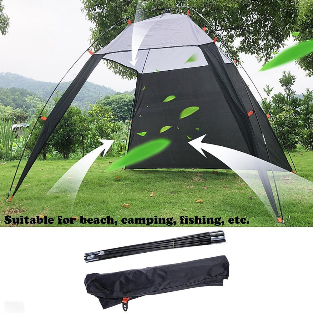 Lightweight Sun Shade Waterproof Tent Outdoors Canopy Beach Shelter Sun Shade Tent For Fishing Camping Travel Dropship