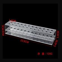 Прозрачная пластиковая коробка прецизионные винты шкаф для хранения отвертка кронштейн для хранения Органайзер держатель инструмент для ремонта мобильных телефонов