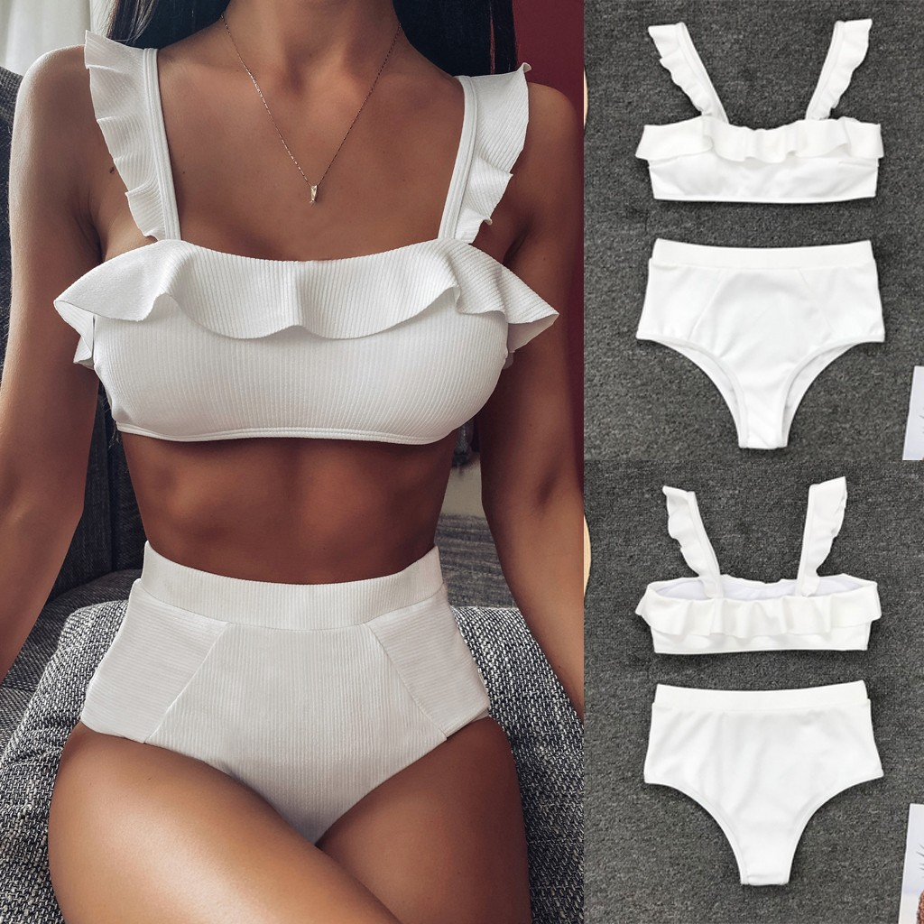 2019 Newest Bathing Wear Lady Hot Sexy Women Pure Color Push-Up Padded Lengeries Wire Free Female Intimates Brazillian Underwear