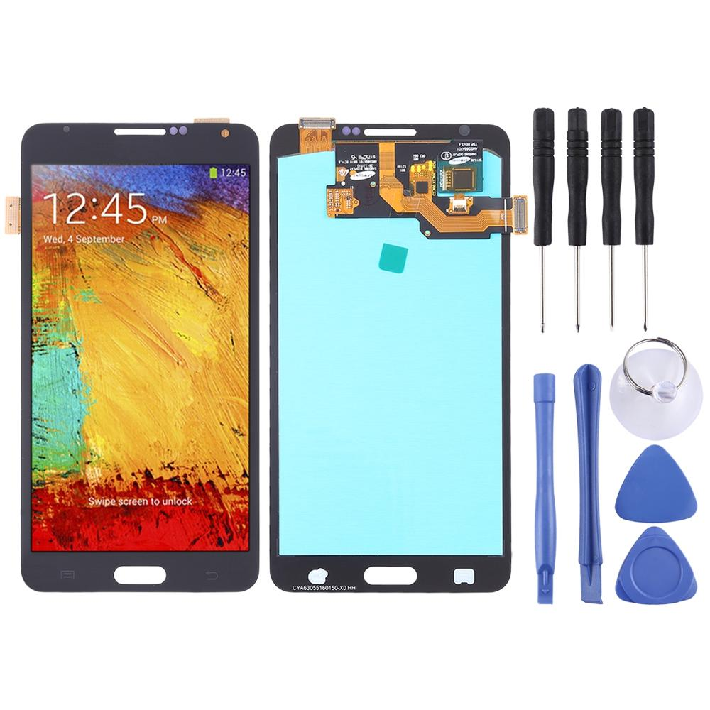 <font><b>LCD</b></font> Screen and Digitizer Full Assembly (OLED Material ) for Galaxy Note 3, <font><b>N9000</b></font> (3G), N9005 (3G/LTE) image