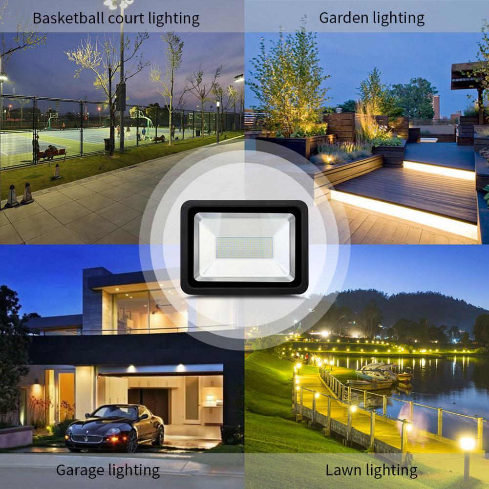 220 В Светодиодный прожектор 150 Вт отражатель светодиодный прожектор водонепроницаемый IP66 прожектор Наружное настенное освещение теплый хо