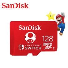 SanDisk nouveau style 128GB 64GB 256GB micro SDXC UHS-I cartes mémoire pour Nintendo Switch TF 64 128 256GB carte microSD