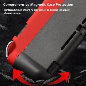 Image 2 - 스위치 라이트 보호 케이스 가방 마그네틱 버클 그립 케이스 닌텐도 스위치 라이트 게임 액세서리에 대한 PC 하드 다시 커버 쉘