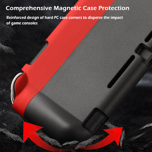 Image 2 - Switch Lite Protective Case Bag Magnetic Buckle Grip Case PC Hard Back Cover Shell For Nintendo Switch Lite Game Accessories