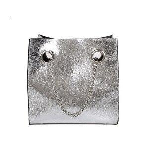 Image 5 - Big Bag Borsa Delle Donne di Estate di Nuovo Stile di Modo di Grande Volume Della Catena DELLA RAGAZZA Versatile Sacchetto di Crossbody del sacchetto di spalla di lusso borse