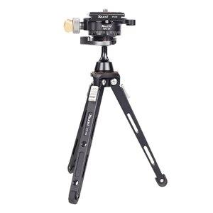 Image 4 - XILETU XBC20 + XT18 גבוהה נושאות שולחן עבודה סוגר מיני חצובה שולחן כדור ראש עבור DSLR מצלמה ראי מצלמה Smartphone
