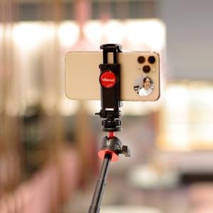 Image 5 - ULANZI הקלטת וידאו Vlog ערכת מיקרופון חצובה טלפון מחזיק קליפ הר עבור YouTube לחיות Vlogging Smartphone iPhone אנדרואיד