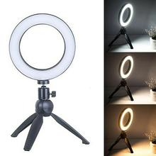 falcon eyes 216 bi color led video light lamp dimmable for illuminating photographing or filming for canon nikon camera dv 216vc Dimmable LED Studio Camera Ring Light Photo Phone Video Light Lamp With Tripods Selfie Stick Ring Table Fill Light For Canon