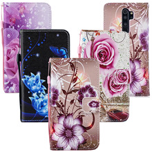 Flower Leather Wallet Case For Xiaomi Mi