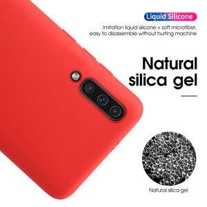 Image 2 - 10 sztuk/partia płynna guma silikonowa miękka pokrywy skrzynka dla iPhone 11 Pro Max 6 6S 7 8 Plus se2 se 2 telefon Coque dla iPhone X XS Max XR