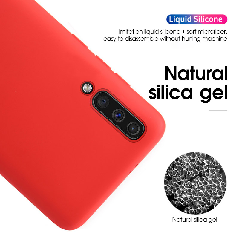 Image 2 - 10pcs/lot Liquid Silicone Rubber Soft Cover Case For iPhone 11 Pro Max 6 6S 7 8 Plus se2 se 2 Phone Coque For iPhone X XS Max XRFitted Cases   -