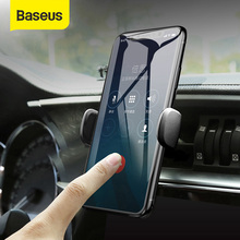 Baseus Mini Car Phone Holder For iPhone Samsung Air Vent Mount GPS Car Holder for Cell Mobile Smart Phone Holder Stand Bracket