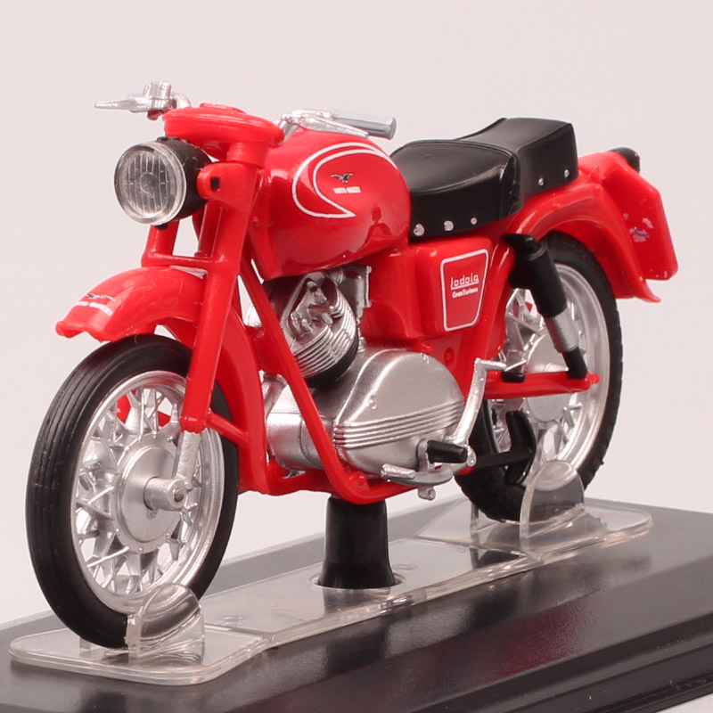 1/22 Scales Mini Vintage Starline MOTO GUZZI Lodolo 175 Sport Motorbike Diecasts & Toy Vehicles Model Motorcycle 1958 Adult Gift