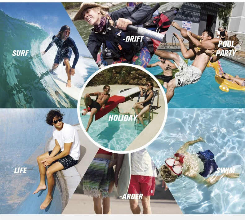 2020 yeni marka Bermuda kısa çizgili erkek marka Spandex Boardshorts şort plaj şortu hızlı kuru gümüş kurulu şort mayo