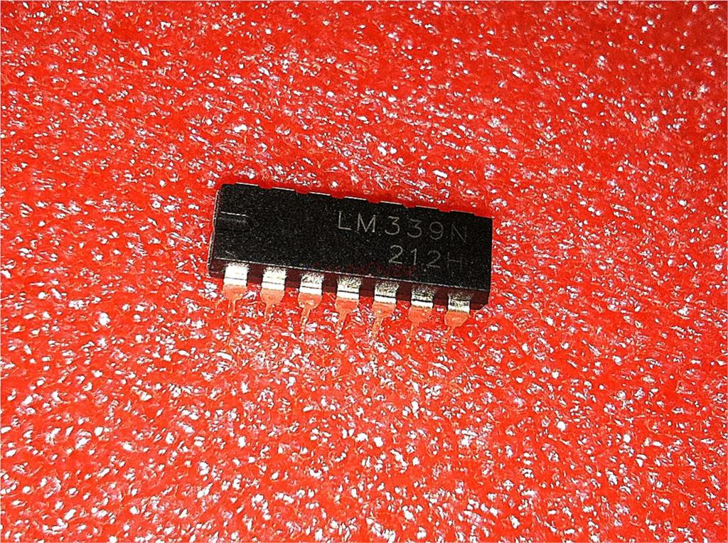 10pcs/lot LM339N DIP14 LM339 DIP Quad Single Supply Comparators New And Original IC In Stock
