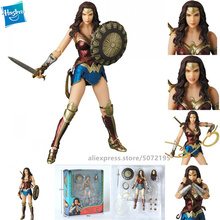 Hasbro Movie Edition DC Wonder Woman Justice League Multiple joints can rotate PVC Collectible Model цена 2017