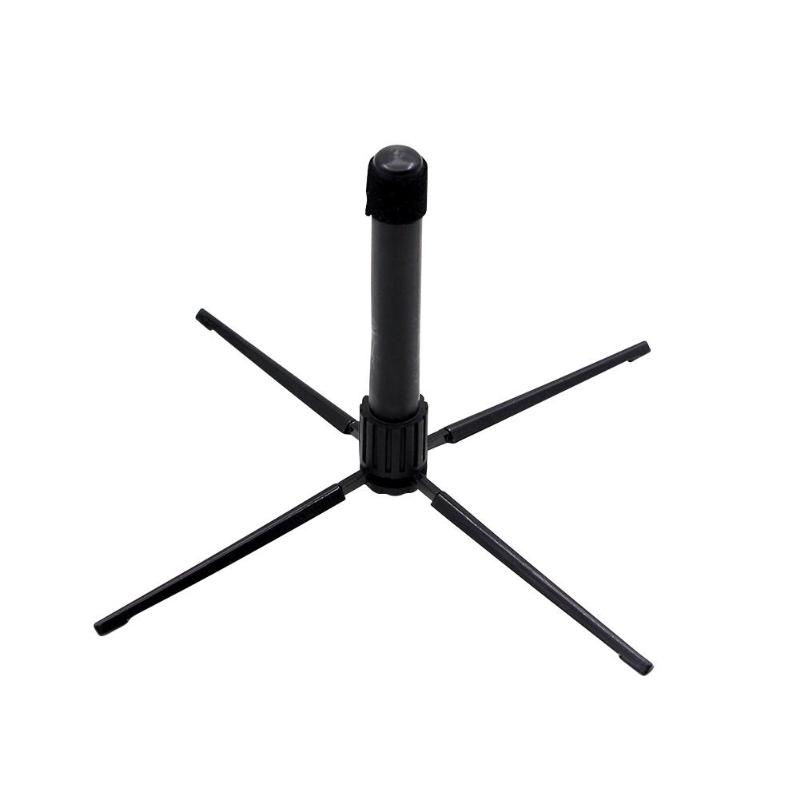 4-Leg Wind Instrument Stand Holder Foldable Oboe Flute Clarinet Sax Bracket