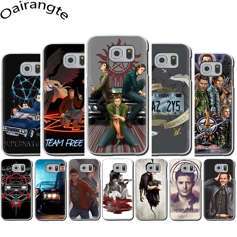 Supernatural Jared Padalecki KAZ 2Y5 Hard Phone Case for Samsung S6 S7 Edge S8 S9 S10 Plus S10e Note 8 9 10 M10 M20 M30 M40 image