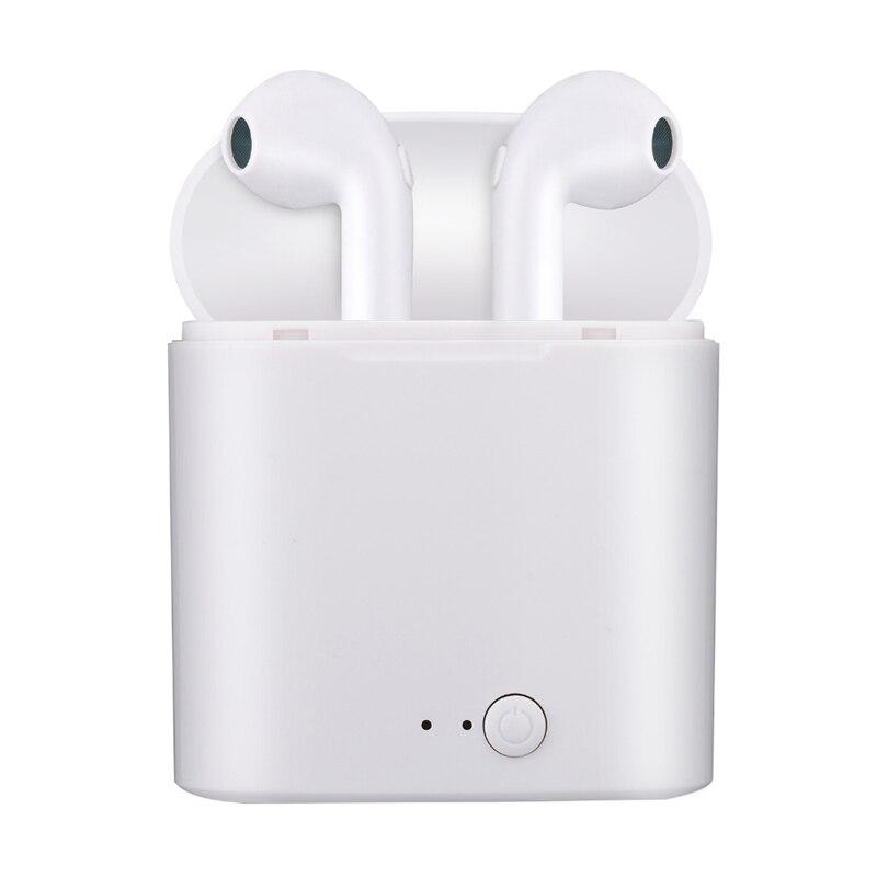 I7s TWS беспроводные наушники Bluetooth 5,0 гарнитура спортивные наушники с микрофоном bluetooth наушники