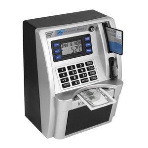 Money-Box Banknote Deposit Piggy-Bank Cash-Coins Safe ATM Password Mini Electronic Children