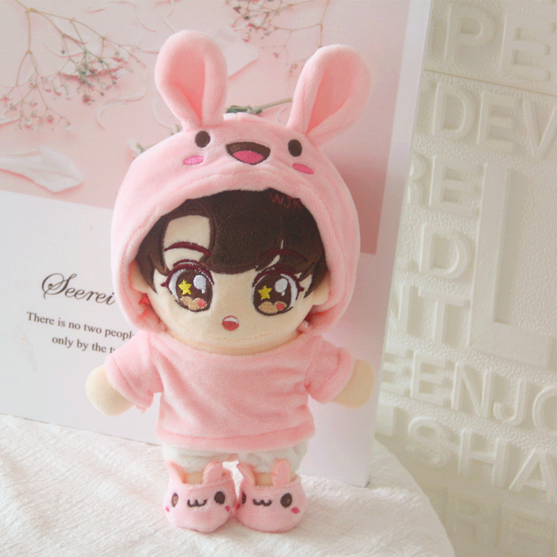 [MYKPOP]KPOP Doll's Clothes & Accessoires-Bunny 3pcs Set For 20cm Dolls(without Doll) EXO/Bangtan SA19112610