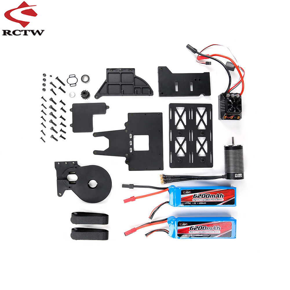 Oil To Electricity Kit (Full Version) for 1/5 HPI ROFUN ROVAN KM Q-BAJA RC CAR Toys PARTS