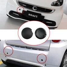 Автомобильный Передний Задний бампер буксировочный крюк глаза Кепки для Mercedes Smart 451 Fortwo крышка гкузов прицепа 2009 2010 2011 2012 2013 2014