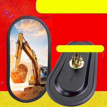 Dla DOOSAN ZX PC SANY SY HYUNDAI SK koparka CAT koparka ogólne lusterko wsteczne lusterko wsteczne akcesoria do koparek tanie i dobre opinie ALLBBIN CN (pochodzenie) excavator Accessories 0 2kg 10cm alloy