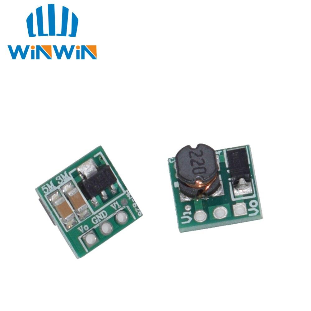 Placa do conversor HW-626 v 0.9 v DC-DC v 1.5 v 3 v 1.8 v 2.5 v 3.3 v 3.7 v 4.2 v a 5 v