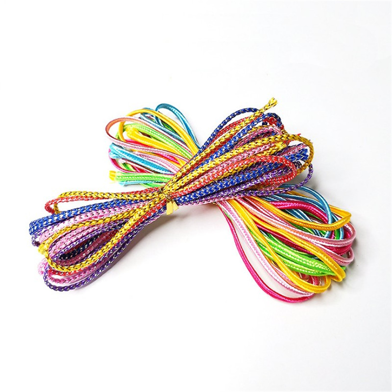 Colourful Hair Braiding Strings