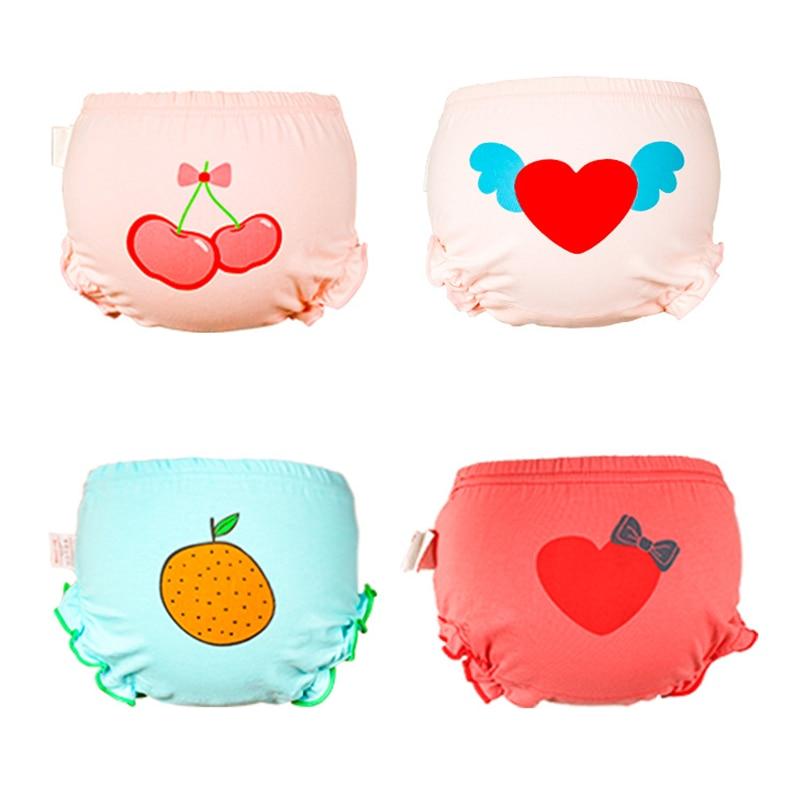 6-13kg Baby Kids Panties Cotton Children Underpants Girl Print Briefs Panties Soft Comfy Cute Cartoon Pattern Undewear