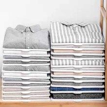 5 шт./10 шт. Складные держатели для хранения одежды Простые стеллажи для одежды домашняя рубашка Нижнее белье Органайзер доска артефакт