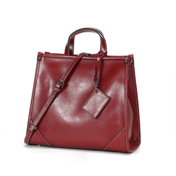 Real Cow Leather Ladies HandBags Women Genuine Leather bags Totes Messenger Bags Hign Quality Designer Luxury Brand Bag C1263