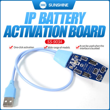 Sunshine Battery Quick Charging/ Activation Board For iPhone 6S/7/8/X XS MAX/11 Pro MAX For Samsung xiaomi Huawei Android Phone