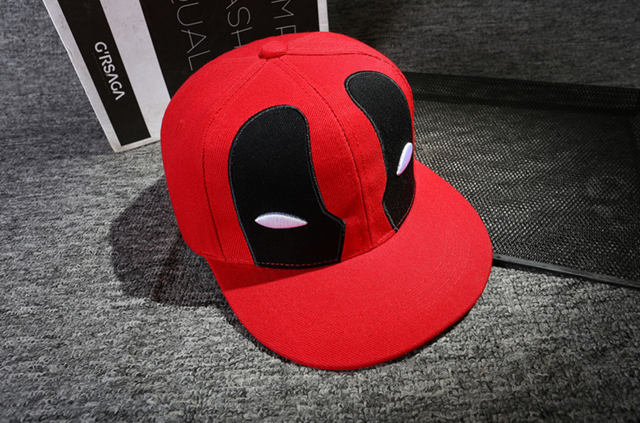 Anime Deadpool Embroidery Snapback 4