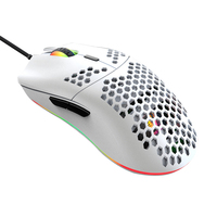 Computer Accessory 7 Keys 12000 DPI E Sports Gaming Mouse Laptop PC Honeycomb Shell Practical Wired Lightweight Ergonomic Design