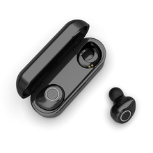 цена на 5.0 Wireless Bluetooth Earphone In-Ear Ear Hook Hd Stereo Wireless Headphones Noise Cancelling Sport Headset