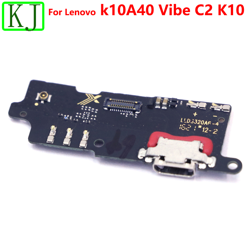 For Lenovo K10A40 Vibe C2 K10 Charger USB Charging Port Dock Connector Flex Cable Mic Microphone Board