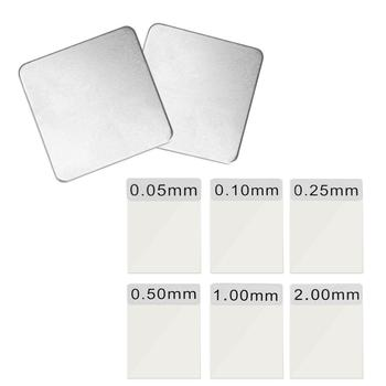 Красивая калибровка толщины покрытия пленки для калибровки толщины покрытия стандартный набор фольги калибровочный Набор для TC100/200 & GM998 Приборы для измерения ширины      АлиЭкспресс